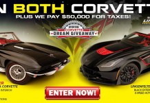 Win These Two Special Corvettes in the 2016 Corvette Dream Giveaway