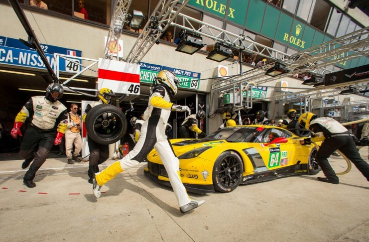 Corvette Racing to Take a Third C7.R Chassis to Le Mans