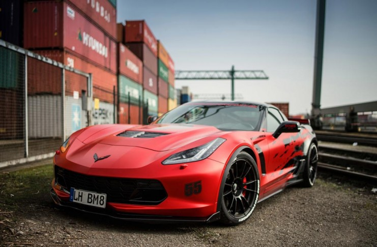 European Tuner BBM Motorsport Goes to Work on the C7 Corvette Z06