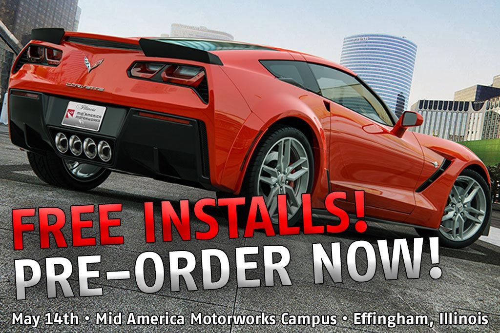 Mid America Motorworks Offering a Free Install Day on May 14th