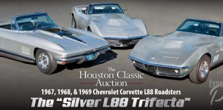 Worldwide Auctions to Offer the Silver L88 Trifecta at Saturday's Houston Classic