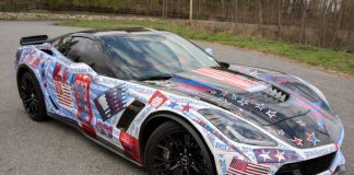 Feeling the Bern? You will in a Bernie Sanders Corvette Z06