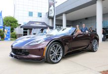 [PICS] 2017 Corvette Grand Sport Convertible in Black Rose Metallic