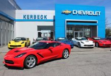 April 2016 Corvette Sales