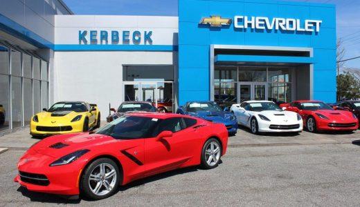 April 2016 Corvette Sales