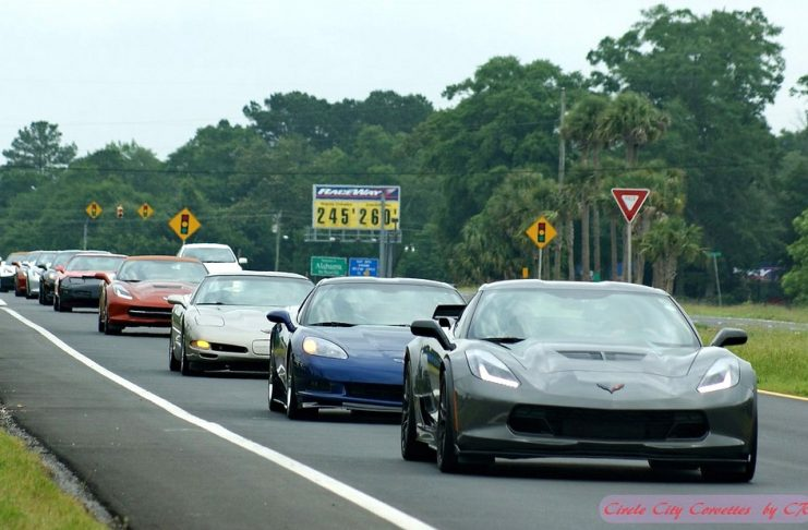 Join Circle City Corvettes for the 36th Annual Corvette Beach Caravan and Car Show