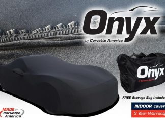 Corvette America's Premium ONYX Indoor Car Covers for All Generation Corvettes