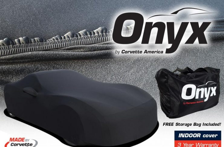 Corvette America's Premium ONYX Indoor Car Covers for All Generation Corvettes