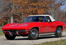 Rare Fuel Injected 1965 Corvette Sting Ray to be Offered at Mecum's Indy Auction