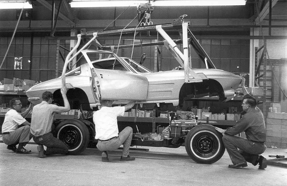 C5 Corvette For Sale >> [PICS] Throwback Thursday: 1963 Corvette Pilot Build ...