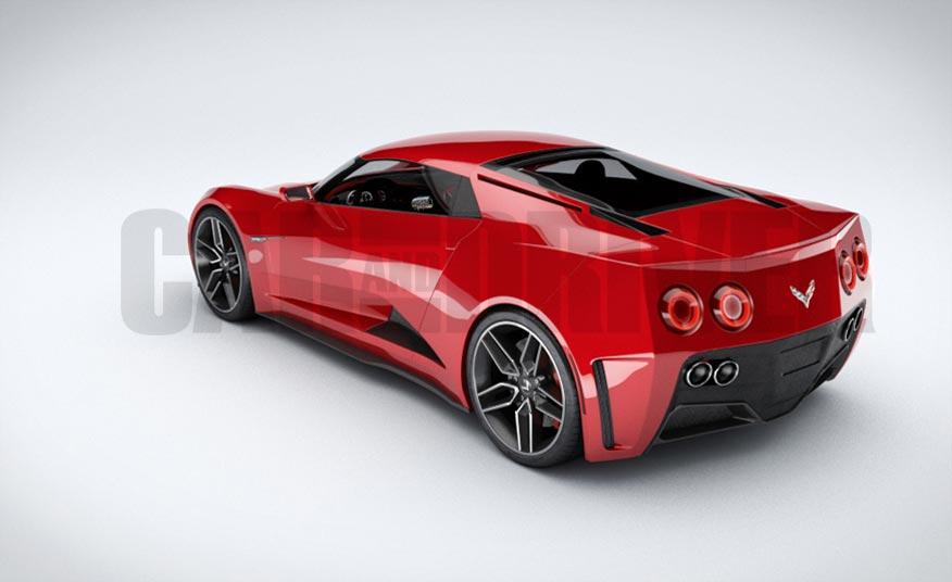 C4 Corvette For Sale >> Car and Driver: Next Generation C8 Corvette to be Mid ...