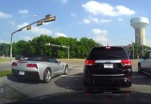 [ACCIDENT] C7 Corvette Stingray Wreck at Intersection Caught on Video