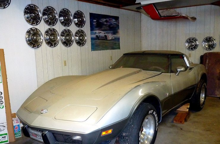 Corvettes on eBay: 4.1 Original Mile 1978 Silver Anniversary Edition