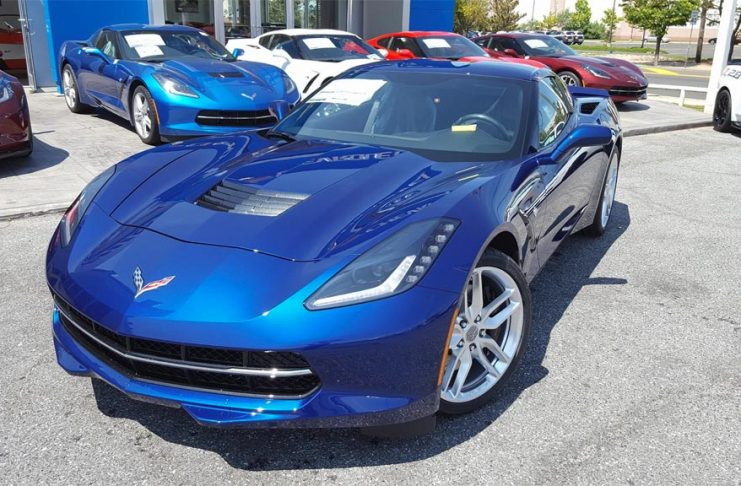 [PICS] Kerbeck Shows Off New Admiral Blue 2016 Corvette Stingray