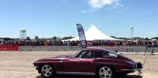 [VIDEO] 1965 Corvette Sets World Record with 201.3 MPH at the Texas Mile
