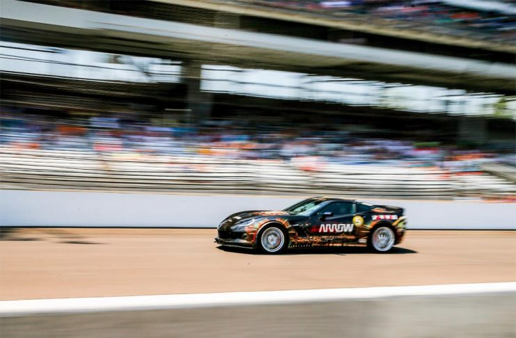 Quadriplegic Racer Sam Schmidt Hits 152 in a Semi-Autonomous Corvette Z06