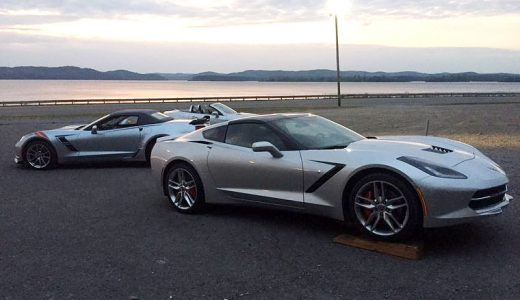 2017 Corvettes Spotted at Brochure Photoshoot in Guntersville, AL