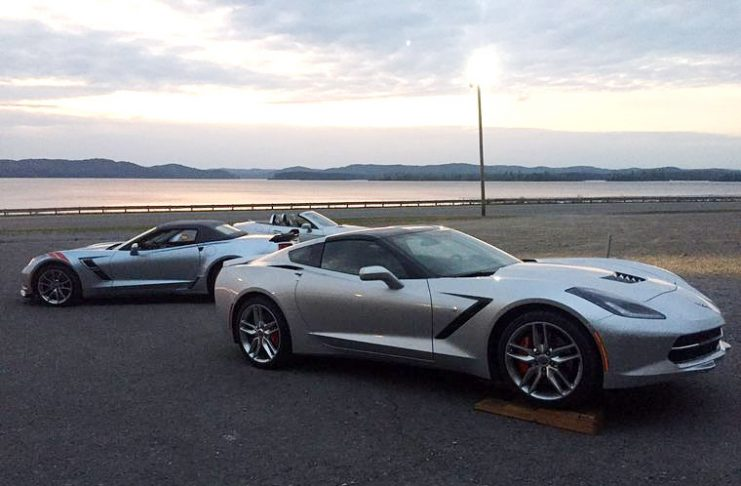 2017 Corvettes Spotted at Brochure Photoshoot in Guntersville, AL
