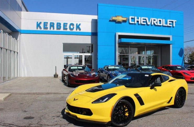 May 2016 Corvette Sales