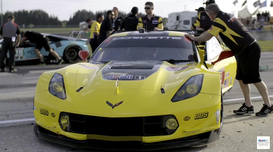 [VIDEO] Mobil 1's The Grid Previews Corvette Racing at the 24 Hours of Le Mans