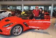 [PIC] Mid America Motorworks' Mike Yager Picks Up a New Corvette Z06