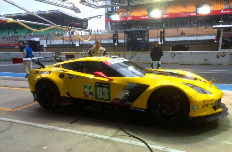 Corvette Racing Hit By BoP at Le Mans After Finishing Quickest at Test