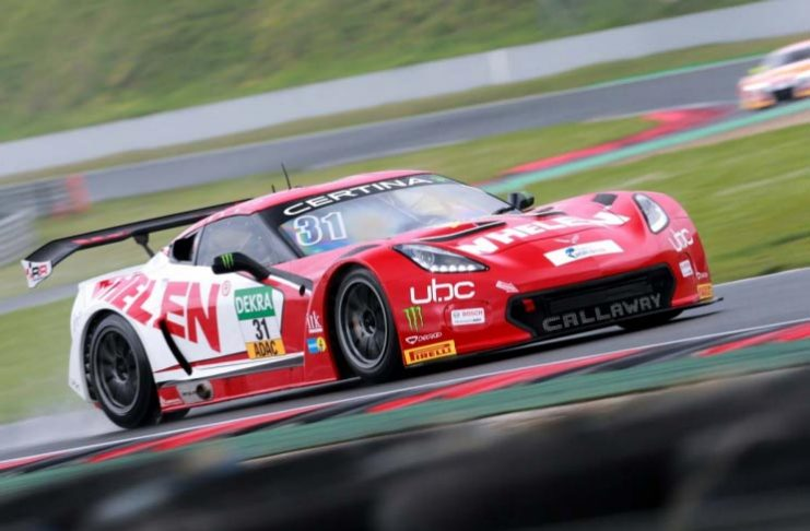 Callaway Corvette C7 GT3-R Takes on the Nurburgring in VLN Series