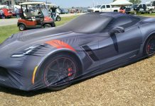 [PICS] Chevrolet Displays New Grand Sport Car Cover at Bloomington Gold