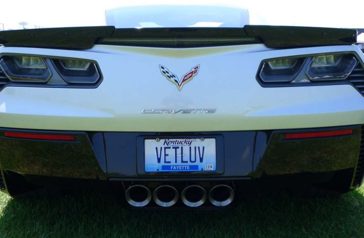 [PICS] The Corvette Vanity Plates of Bloomington Gold 2016
