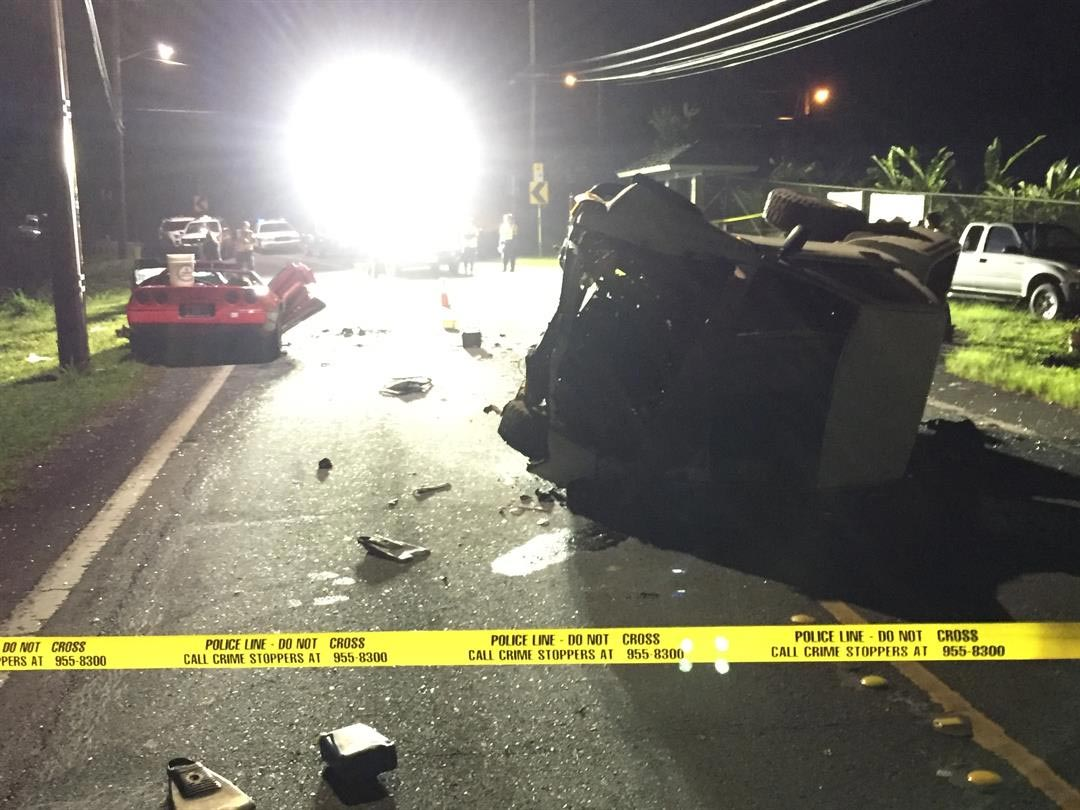 Suspected DUI Driver Kills C4 Corvette Owner and Passenger in Hawaii