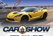 Sport Chevrolet is Hosting the 43rd Annual Corvette Club of America Spring Car Show