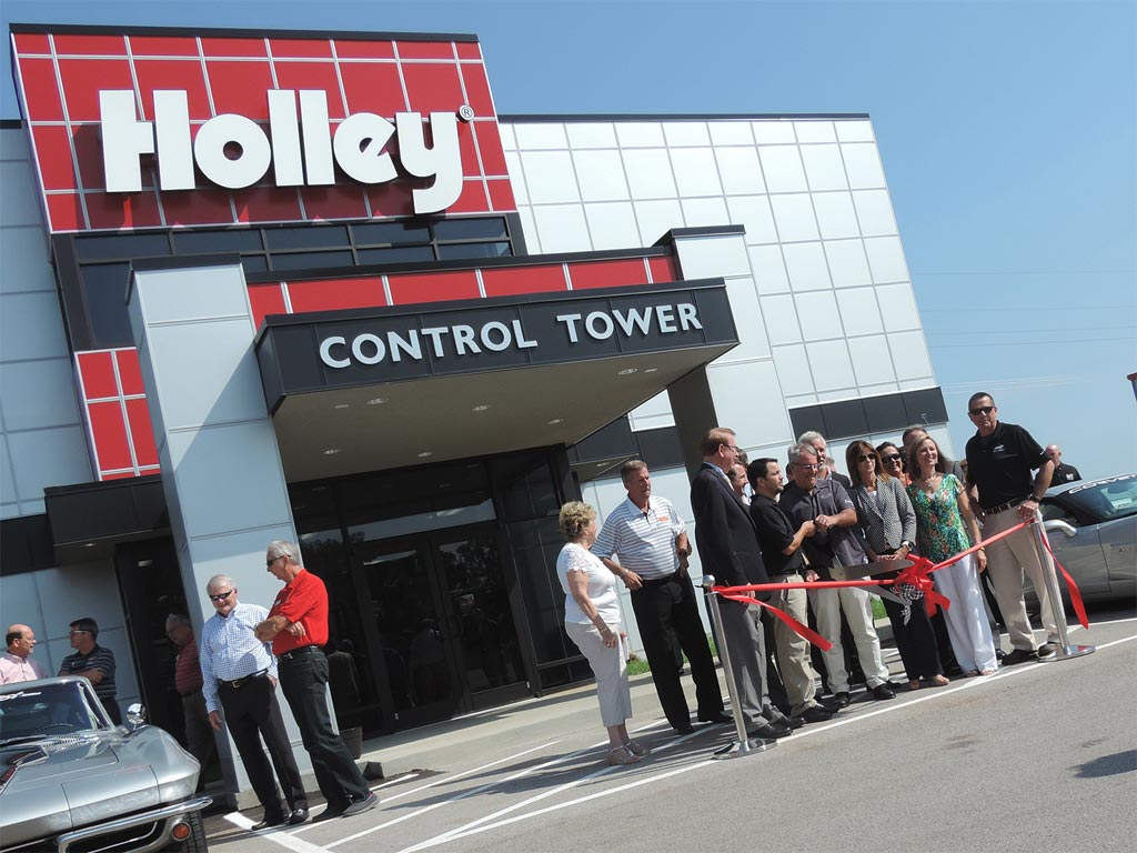 Holley Control Tower and Winding Road Race Store Officially Opened at NCM Motorsports Park