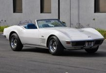Rare 1970 Corvette ZR1 Convertible Heading to Russo & Steele's Monterey Auction