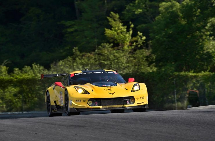 Corvette Racing at Lime Rock: Consistency Lands Milner Third on GTLM Grid