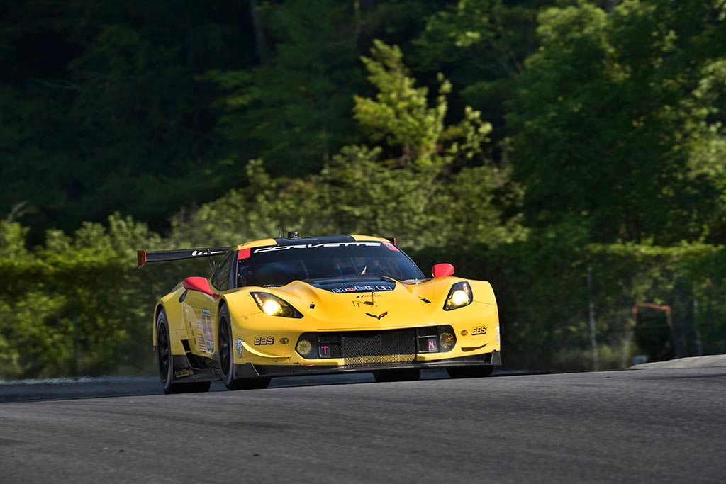 Corvette Racing at Lime Rock: Consistency Lands Milner Third on GTLM Grid