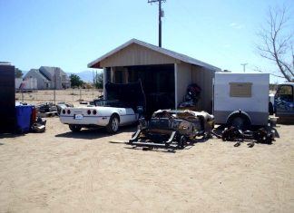 Police Shut Down Corvette Chop Shop in California
