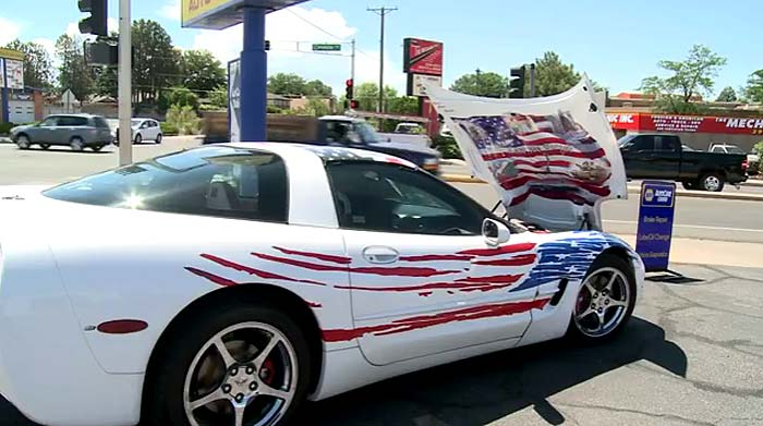 Albuquerque Business Owner to Raffle His 1998 Corvette to Support Police Charities