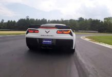 [VIDEO] Callaway SC757 Corvette Z06 Takes on Thompson Speedway