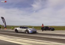 [VIDEO] 736 HP C6 Corvette Z06 vs 1,400 Twin Turbo Camaro SS