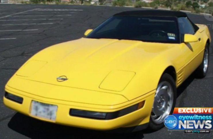 C4 Corvette Torched by Suspicious Individuals in Australia