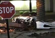 [VIDEO] C7 Corvette Z06 Crashes into a Tree While Leaving a Scottsdale Car Meetup