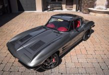 Corvettes on eBay – The Punisher 1963 Corvette is a Sinister Restomod