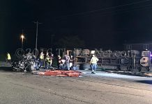 [ACCIDENT] Maryland Corvette Driver Killed after Fatal Crash Flips a Garbage Truck