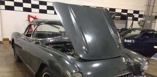 Corvette Museum Receives First Donation of a 1956 Corvette