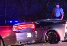 Pair of Corvettes Fleeing Georgia Cops Cause Multiple Crashes in Buckhead