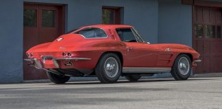 1963 Corvette Z06 Tanker Offered at Mecum Monterey
