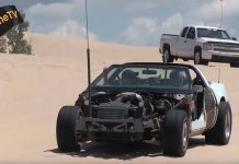 [VIDEO] Roadkill Inspired C4 Corvette Dune Buggy Plays in the Sand