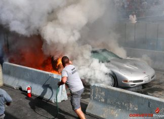 [VIDEO] Flame On! It's the 2016 Corvettes at Carlisle Burnout Contest