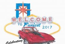 Corvette Funfest 2017 to Celebrate the 50th Anniversary of the 1967 Corvette