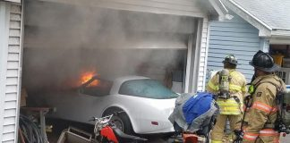 C3 Corvette Damaged in Connecticut Garage Fire